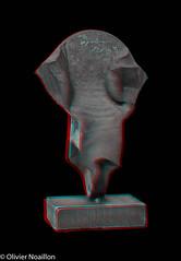 Atelier et sculptures d'Oscar Wiggli-7.jpg (Pascale Jaquet & Olivier Noaillon) Tags: 130k anaglyphe anaglyph sculpture chezoscarwiggli atelier muriaux franchesmontagnes suisse