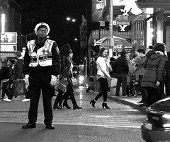Misery in Time's Square (michaelfriedman47) Tags: streetphotography street photography blackandwhite nyc man times square timessquare manh decisive henri cartier