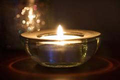 Holiday Bokeh (Wim van Bezouw) Tags: holidaybokeh macromondays bokeh candle candelight object light macro sony ilce7m2