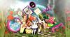 Wonderland from 2D to 3D (meriluu17) Tags: boudoir gacha ohmygacha color colorfull sky wonderland alice madhatter rabbit animal grass flower flowers fantasy 2d 3d magical magic surreal fairytale tale