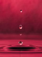 The Alignment (yasjooni) Tags: nikon nikond3200 d3200 water droplets splash colour