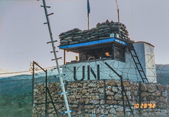 4-26 CP (Normann Photography) Tags: 1992 19921028 426 cp fntjeneste forsvaret kontigent29 lebanon libanon peacecorps unservice unifil unitednations unitednationsinterimforceinlebanon xxix checkpoint contigent29 contigentxxix market peacekeepers wedensday kawkaba nabatiyehgovernorate lb