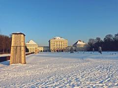 snow in the park (maxmedl) Tags: winter schnee snow münchen munich schloss schlosspark castle nymphenburg sonnenschein