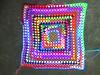 Great Granny Square back view (crochetbug13) Tags: crochet crocheted crocheting crochetsquare crochetgrannysquare grannysquare greatgrannysquare crochetblanket crochetafghan