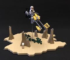 Horizon - Wasteland Speeder (adde51) Tags: adde51 lego moc speeder space moon bike lsb foitsop