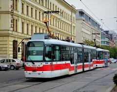 Brno, Benešova 21.10.2016 (The STB) Tags: brno tram tramway strassenbahn strasenbahn tramvaj tramvajovádopravavbrně