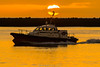 Bateau Pilote (jérémydavoine) Tags: lehavre ciel sky sunset sun couchédesoleil clouds nuage nuages cloud sea mer port harbor boat navire bateau skyscape