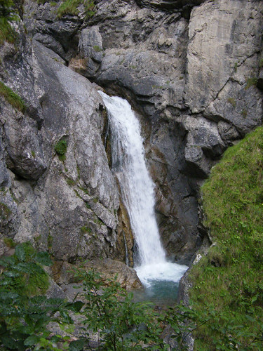Vízesés a Galitzenklammban