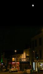 Full moon over East Street (Chris Bertram) Tags: bedminster bristol bs3 eaststreet england europe moon nikond7100 sigma1850f28 unitedkingdom