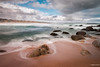Playa de Tunquen (rockdrigomunoz) Tags: playa mar nubes largaexposicion rocas naturaleza paisaje viajes chile