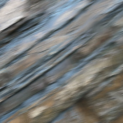 Cliff face on a rainy day (Caroline Oades) Tags: rock rockface cliff cliffface lines stripes icm intentionalcameramovement