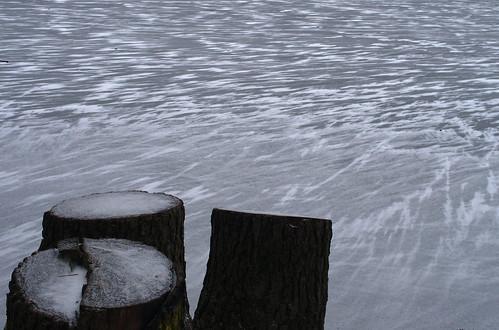 Krumme Lanke zugefroren 3