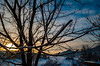 Morning Frost (dorianborovac) Tags: sunrise tree branch sky clouds frost crystals snow winter hills mountains croatia nikon d5100 outdoor nature sun