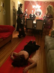 IMG_3870 (ray.stlouis) Tags: murder mystery party nye new years eve year friends game fun costume cosplay decorations awards academy oscars illuminati exclusive death kill blunt force trauma gala suspects killer murdered
