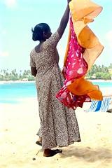 Thailand / Sri Lanka (!3) (The Spirit of the World) Tags: srilanka indianocean beach whitesand ocean woman local vendor