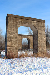 Pilgrimage (view2share) Tags: cn canadiannational cold winter deansauvola wisconsin wi january162017 january2017 january 2017 railway railroading rr railroads railroad rail rails railroaders rring roadtrip train track trains transportation tracks transport trackage trees freight freighttrain rockmont dssa duluthsouthshoreatlantic bridge abandoned abandonment superiorsub northwoods northwood northernwisconsin northwesternwisconsin concrete pier overpass