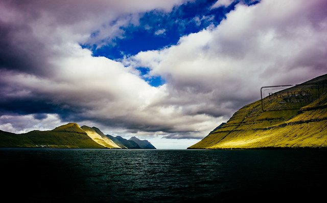 The fjord of Kunoy - Faroe Islands