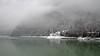 Lake Schener (Primiero) - snowfall (ab.130722jvkz) Tags: italy dolomites trentino snowfall mountains lakes winter alps easternalps vettefeltrinegroup valleys