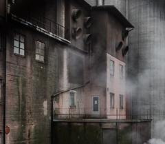 Steam (mill detail) (AstridWestvang) Tags: building industry lågenarea mill vestfold