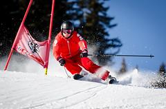 Ouvreurs de Combloux (La Pom ) Tags: combloux flêche compétition descente géant moniteur ouvreur porte piste stade rodhos ski