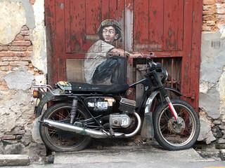 Boy on Streetbike