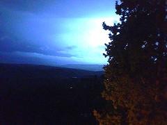 stormy night ... (guendaeio (orasoloio)) Tags: cielo sky temporale storm colline hills notte nigth fulmine lightning collinepisane pisanhills iphone5c nwn