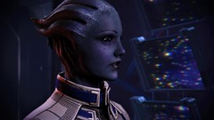 The Broker (KariganSkye) Tags: mass effect 3 liara tsoni shadow broker portrait screenshot