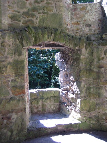Window at Lochleven Castle