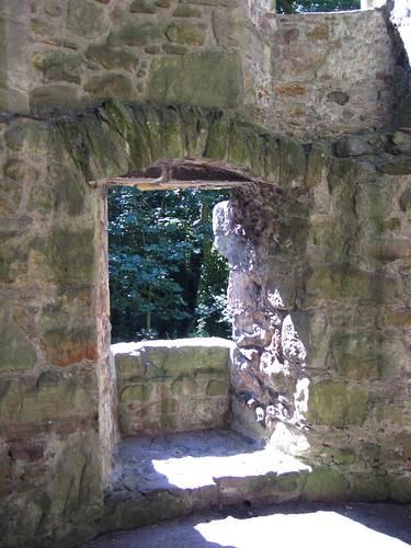 Window at Lochleven Castle