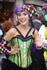 Dancing in the Streets (Read2me) Tags: she cye tcfe woman dance girl candid green colorful mardigras pregamewinner ge