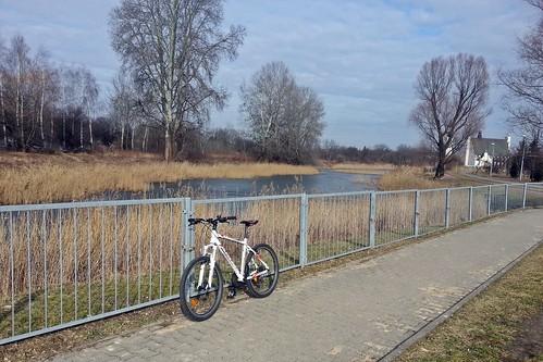 Pierwszy trening rowerowy w tym roku 2017