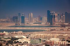 Dubai shores (Coisroux) Tags: dubai emirates skyline cityscape buildings shoreline coastline sea city emirati marina d5500 nikond highrises construction skies