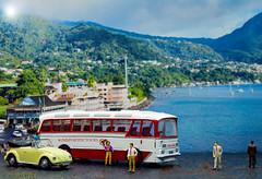 Coach trip - Day 62 of 365 Project - White (twinnieE) Tags: ellensmithcoach mini preiserphotography coach minature tourists truecolours2017 white miniaturecoach holibobs bettle japenese