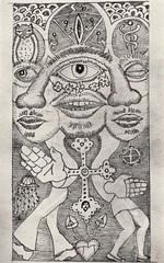 Crux (2) (trudeau) Tags: pencil crux gay duo caduceus owl eye horus shut cross zigzag man jellyfish hamsa clouds dongs