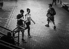 Couples and Singles (TMimages PDX) Tags: street city people urban portland geotagged photography photo image streetphotography explore photograph fineartphotography flickrexplore explored iphoneography