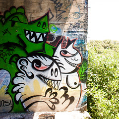Blowing Down the Backroads Heading South (Thomas Hawk) Tags: america california eureka humboldtcounty humboldtgasworks northerncalifornia usa unitedstates unitedstatesofamerica abandoned graffiti devilsplayground
