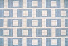 (Mi Mitrika) Tags: azul quadrados pastilha