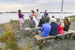 Utskrgrdsbrllop (Anders Sellin) Tags: sea party summer sweden stockholm baltic sverige fest archipelago sommar stersjn brllop skrgrd stora utomhus fredlarna vnskr utfredeln utfredlarna