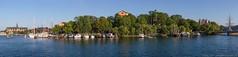 Archipalego (polymathmo) Tags: ocean trees sea panorama boats island afternoon sweden stockholm yacht sunny buoy archipelago