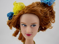Cinderella Doll Set - Live Action - US Disney Store Purchase - Deboxed - Drisella - Standing - Closeup Front View (drj1828) Tags: us cinderella purchase disneystore fairygodmother 2015 11inch dollset deboxed drisella liveactionfilm disneyfilmcollection
