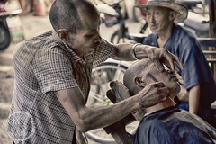 Roadside Hunchback Barber