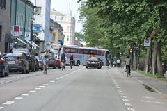 Sykkelfelt Kjpmannsgt. 1108 (Miljpakken) Tags: trondheim rdt sykling bymilj gatemilj miljpakken syklister bygate bytransport bytrafikk miljopakken sykkelveg sykkelanlegg bysykling