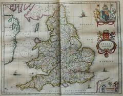 """""""Anglia regnum"""" (Biblioteca Rector Machado y Nuñez) Tags: maps cartography sigloxvii mapas cartografía 1659 fondoantiguo calcografía joanblaeu chalcography mapasplanosetc librosdelsigloxvii geografíadescripcionesviajes joyasdelabiblioteca"""