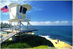 """""""Watch Tower"""" (""""SnapDecisions"""" photography) Tags: ocean california sea tower beach coast nikon lajolla watchtower d800 hirschfeld"""
