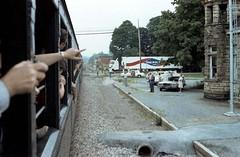 Fort Payne Alabama / P1983-0605a073-19 (Tim and Renda) Tags: vehicles railroads stateofalabama fortpaynealabama dekalbcountyalabama norfolksouthernrailroad railroaddepots trainexcursions passengertraincars rolla073 formatfilm35mmnegative alabamacountydekalb fortpaynedepot norfolksouthernrailroadsteamexcursionprogram year1983pictures canonae1program2067283 cameracanonae1program aboardexcursiontrains aboardjune5th1983excursiontrain birminghamchattanoogatrainexcursion198306 alabamacityfortpayne