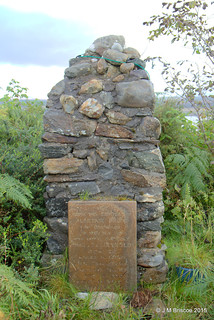Memorial to Guardsman J.B.C. Reynolds D.C.M. Scots Guards