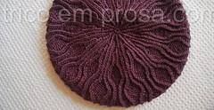 Gorro Amanara (tricô em prosa) Tags: gorro grátis trança português semcostura meiatorcido hat cable cables twisted seamless tricô knitting handknit handmade