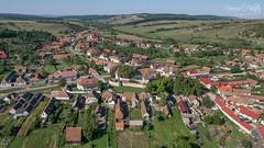 Aerial view of Cincşor, Romania with Lumix GX7