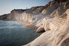 A 7M years old book (luigig75) Tags: sea italy landscape rocks italia sicily sicilia agrigento realmonte scaladeiturchi 70d efs1022mmf3545usm turkishsteps