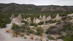 The 'tents' of Tent Rocks NM